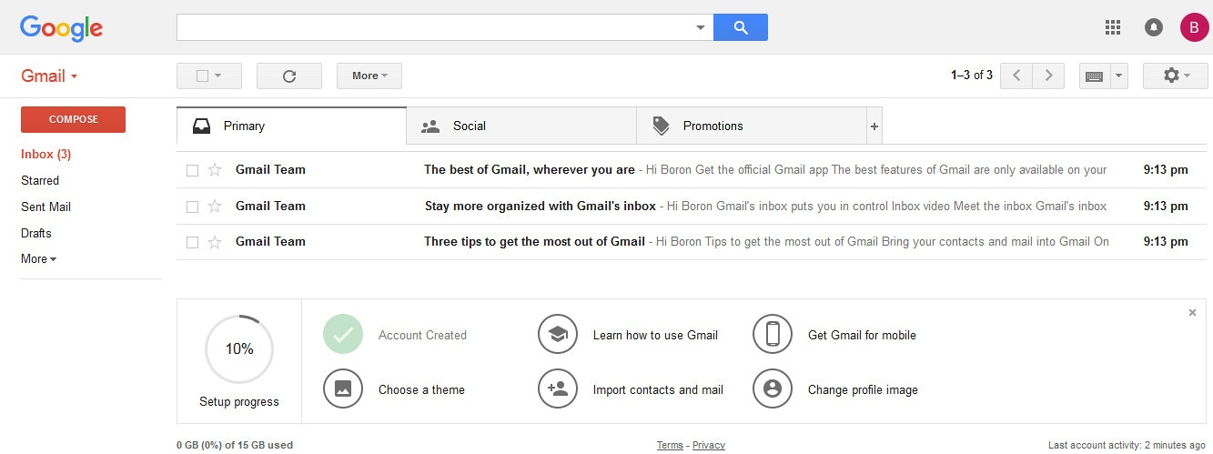access gmail account