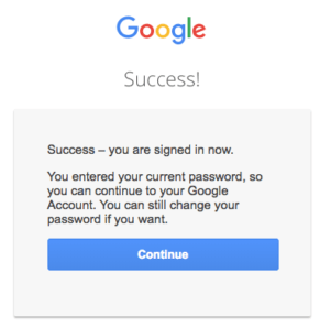 gmail password recovery